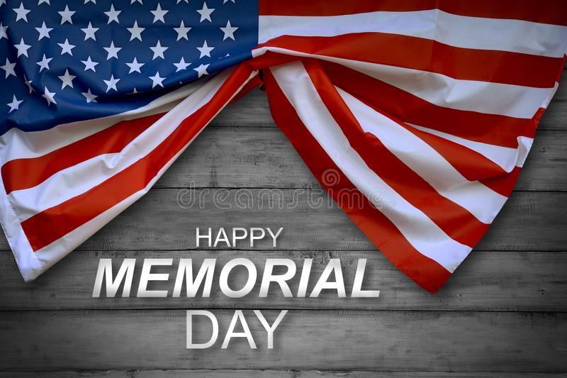 amerikansk dagflaggaminnesmärke royaltyfri foto