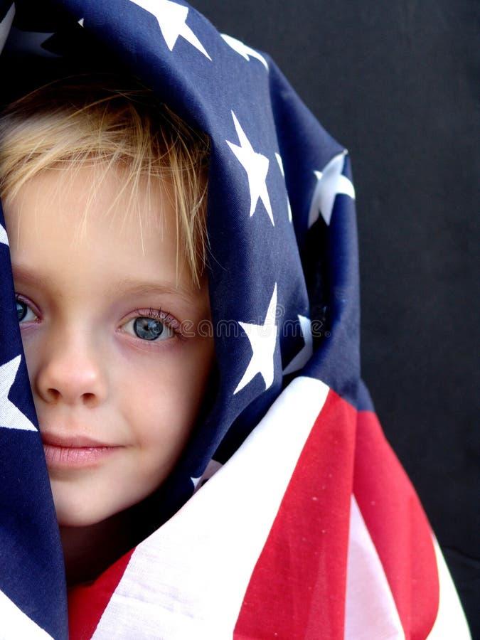 amerikansk flicka arkivfoto