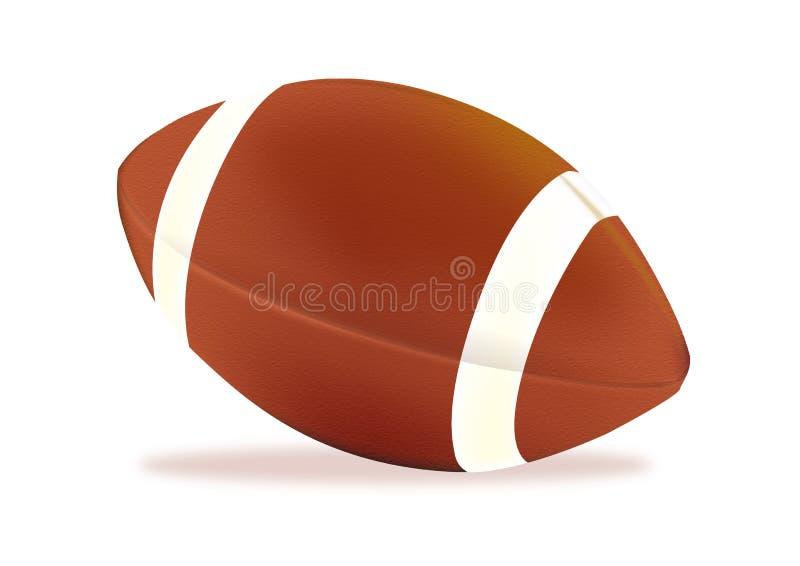amerikansk fotboll stock illustrationer