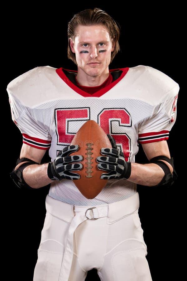amerikansk fotbollsspelare royaltyfria foton