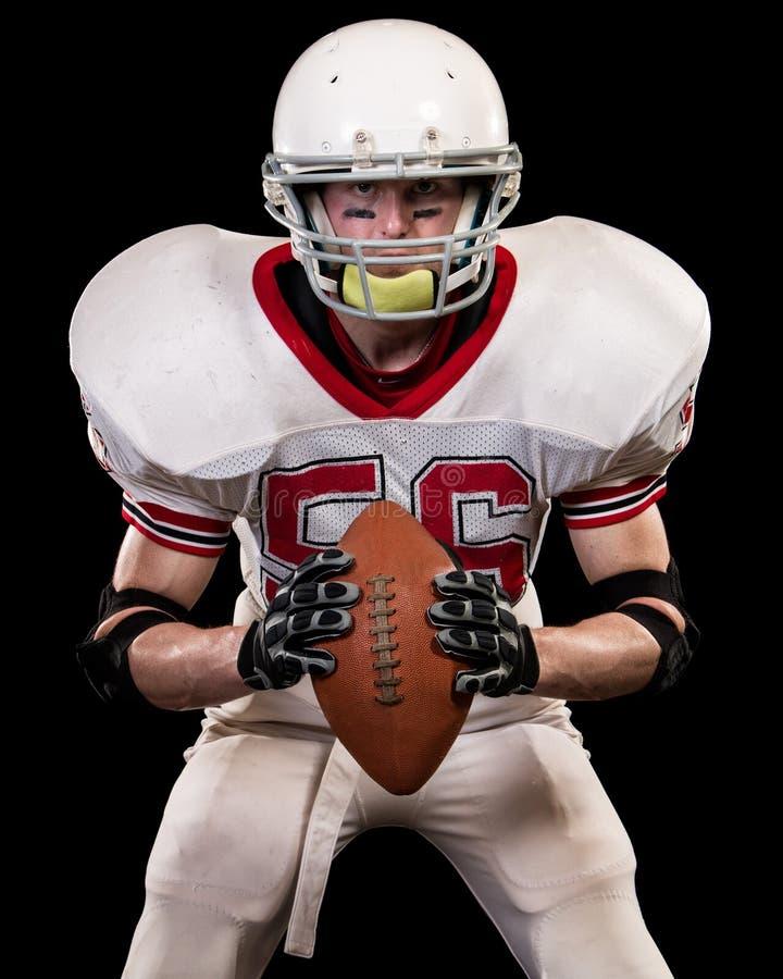amerikansk fotbollsspelare arkivfoton
