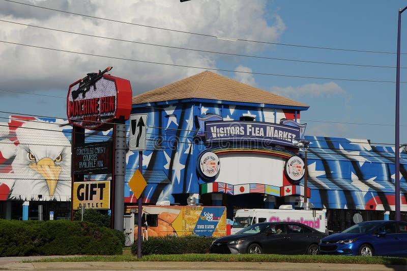 AMERIKANSK GAMMAL STAD KISSIMMEE ORLANDO FLORIDA USA royaltyfri bild