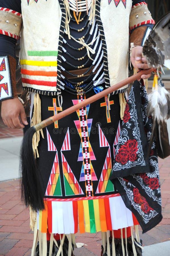 amerikansk indisk inföding arkivfoton