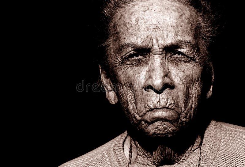 amerikansk indisk kvinna royaltyfria foton