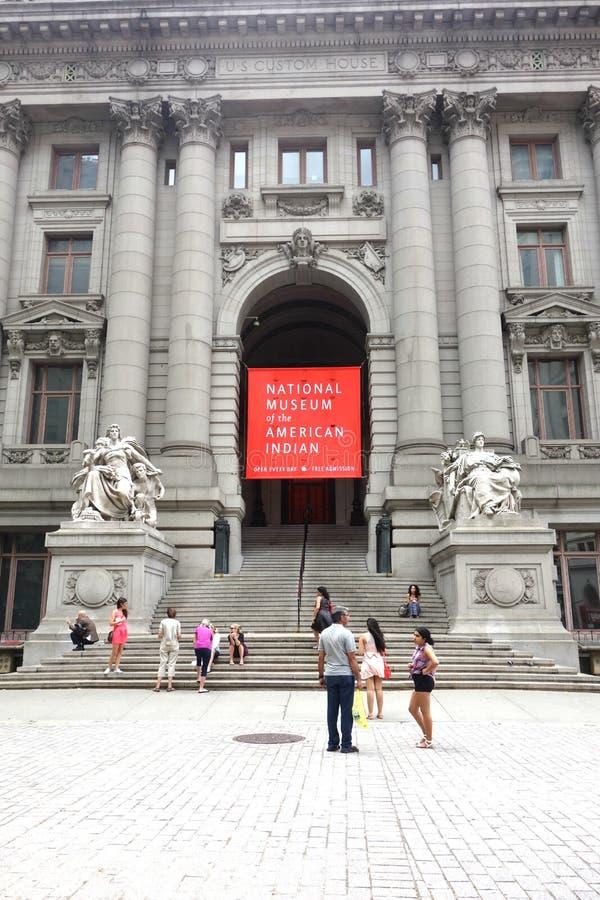 amerikansk indisk museumnational arkivbild