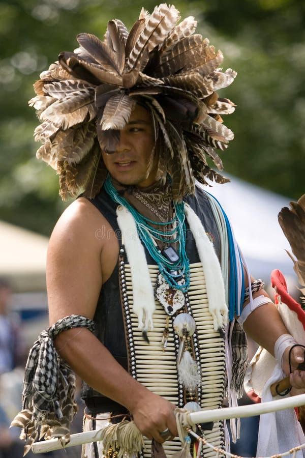 amerikansk indisk norr powdundersuccé royaltyfri fotografi