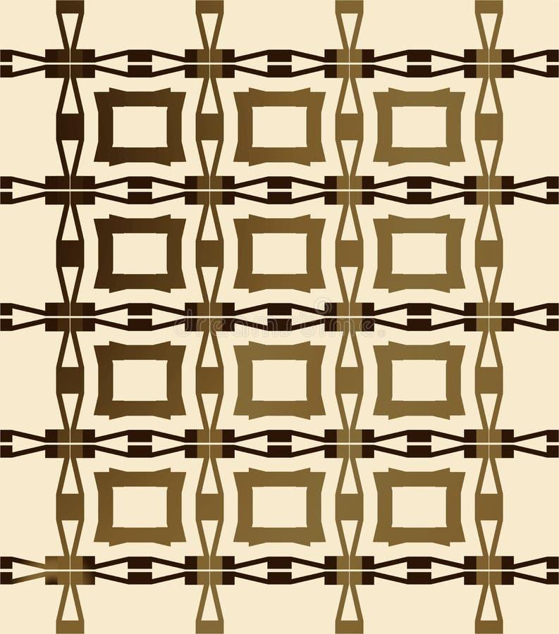 amerikansk infödd panelsepia vektor illustrationer