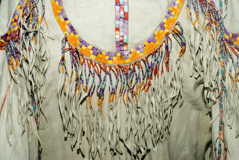 amerikansk infödd skjorta royaltyfri fotografi