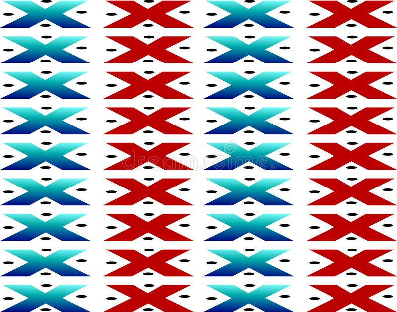 amerikansk infödd tapestry stock illustrationer