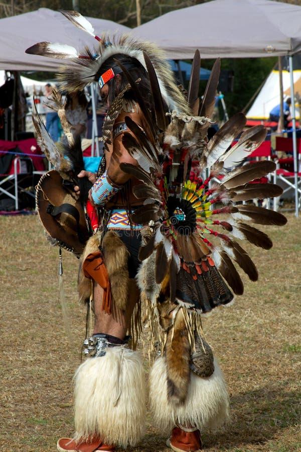 amerikansk infödd krigare arkivfoton