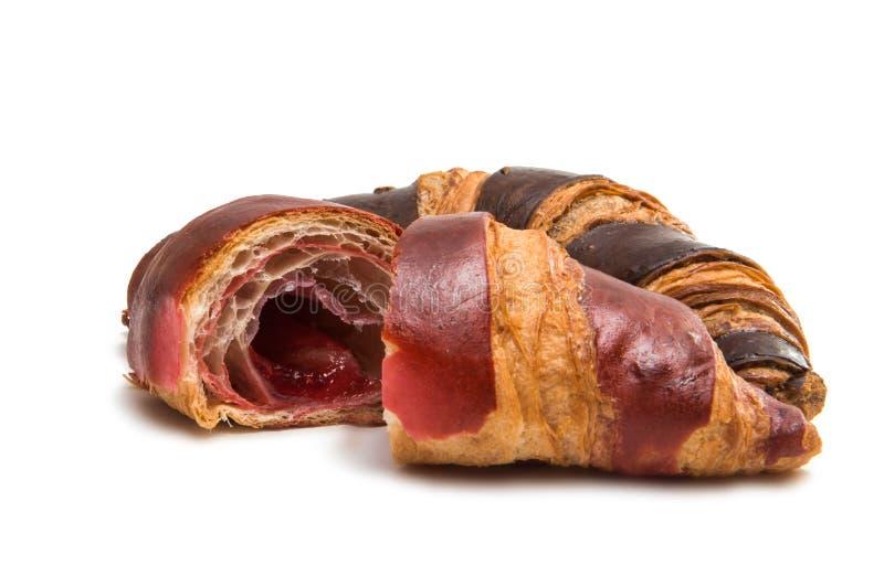 Amerikansk isolerad chokladgiffel royaltyfri bild