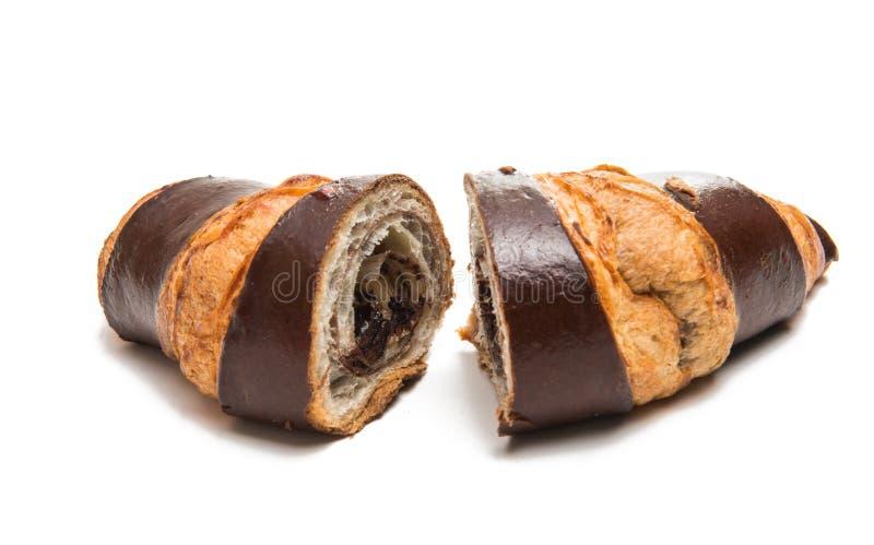 Amerikansk isolerad chokladgiffel royaltyfria bilder