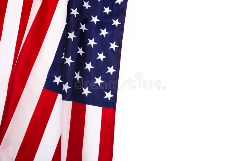 amerikansk isolerad white för bakgrundsdatorflagga illustration royaltyfri fotografi