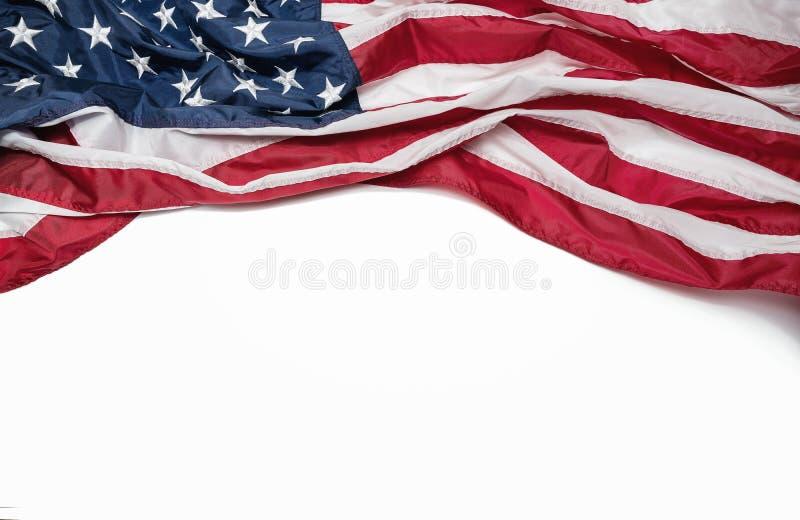 amerikansk isolerad white för bakgrundsdatorflagga illustration arkivfoton