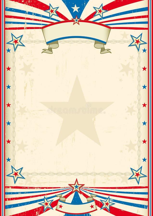 Amerikansk kall ram royaltyfri illustrationer