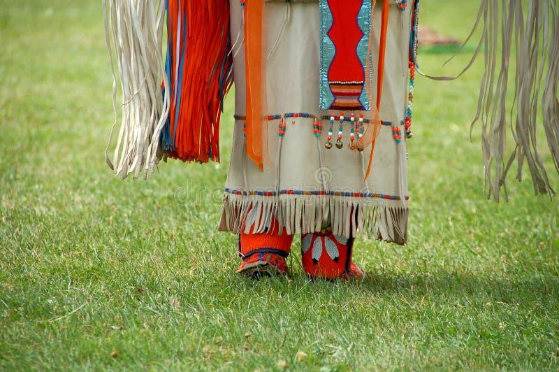 amerikansk klänninginföding royaltyfri bild