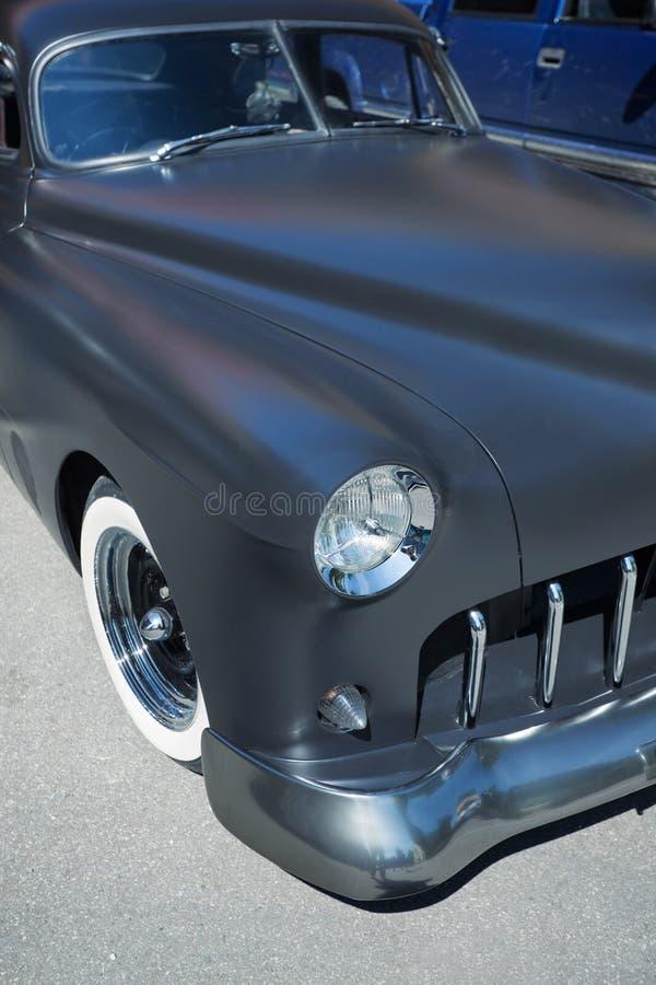 Amerikansk klassisk bil, Front View arkivfoton