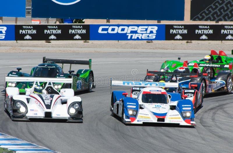 amerikansk Le Mans monterey serie royaltyfri fotografi