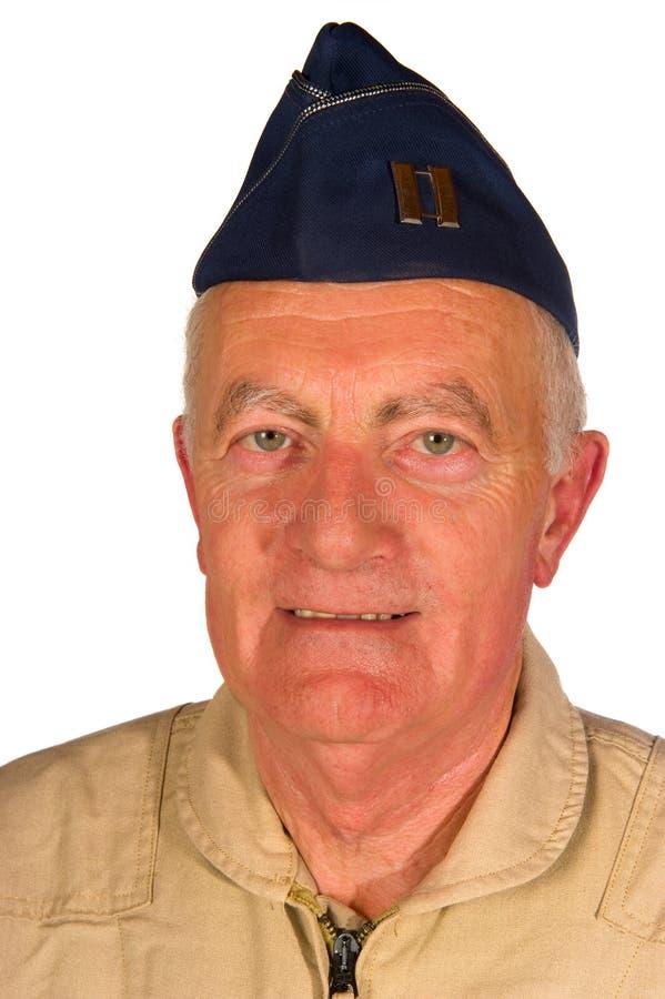 amerikansk pilotveteran arkivbilder