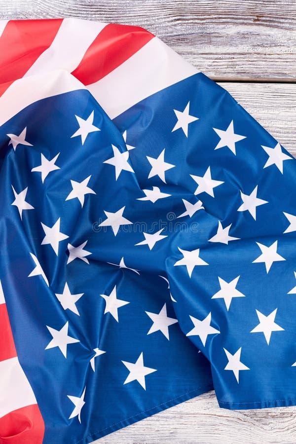 Amerikansk stolthetFörenta staternaflagga fotografering för bildbyråer