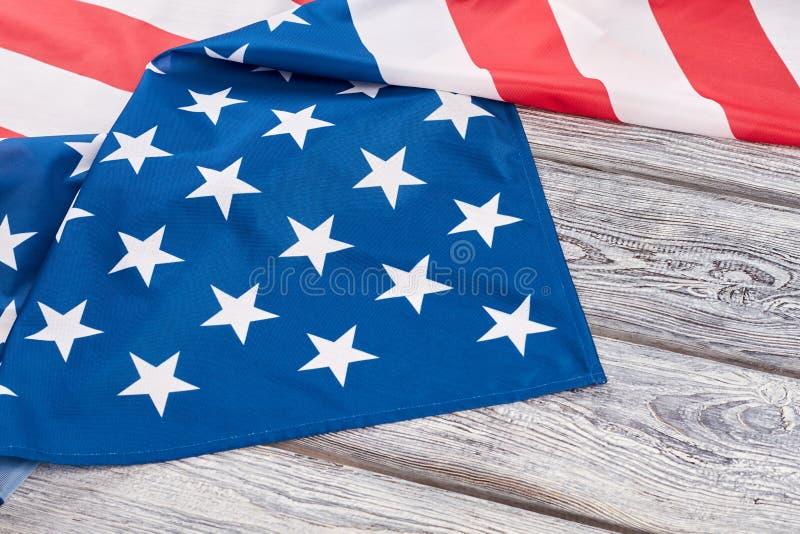 Amerikansk stolthetFörenta staternaflagga arkivbilder