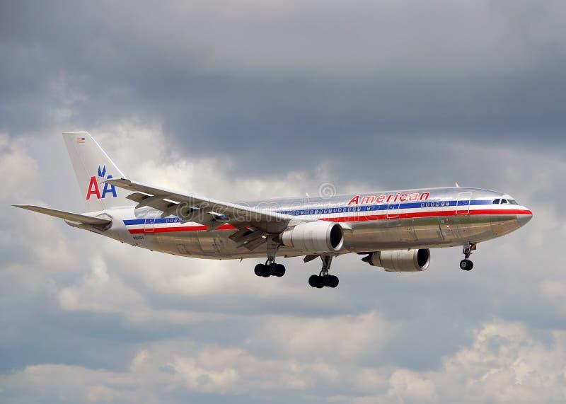 amerikansk strållandning för 300 flygbolag arkivfoton