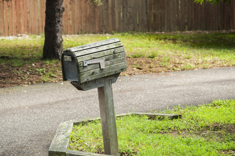 Download Amerikansk Utomhus- Brevlåda Arkivfoto - Bild av brevlåda, postbox: 76700890