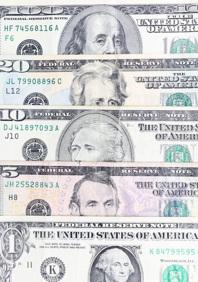 amerikansk valuta isolerad fjärdedelwhite royaltyfri foto