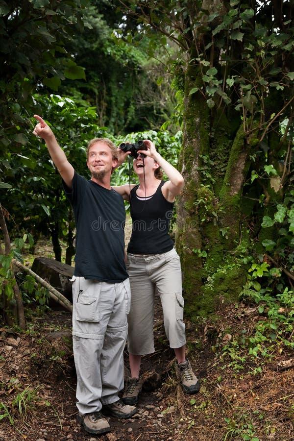 amerikanska centrala turister arkivfoton