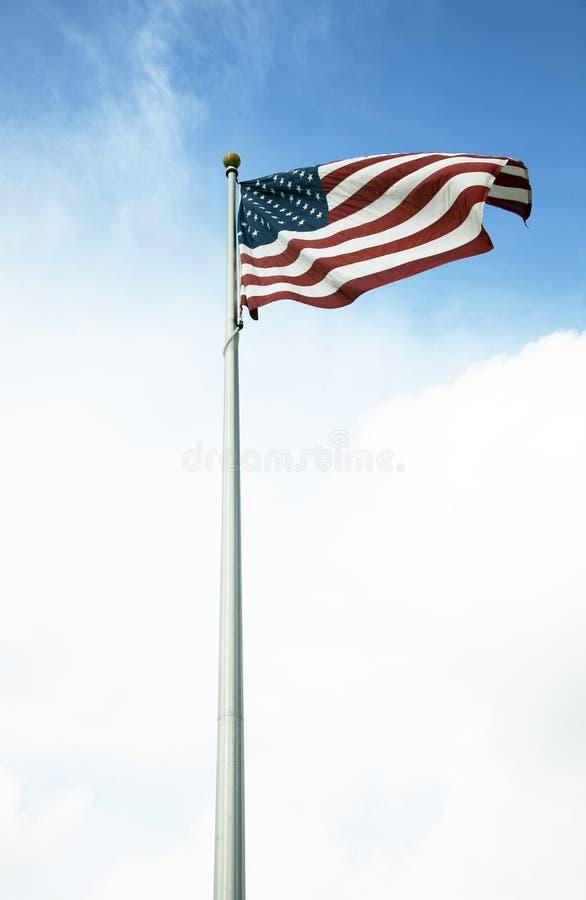 amerikanska flaggan 029 arkivbilder
