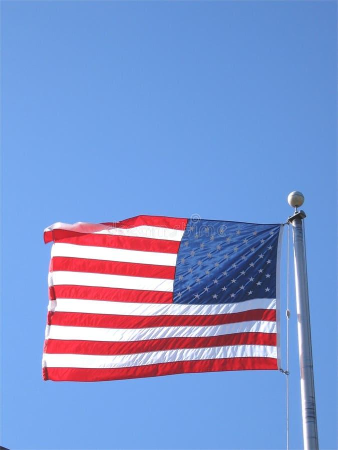 Download Amerikanska flaggan fotografering för bildbyråer. Bild av flagga - 75407