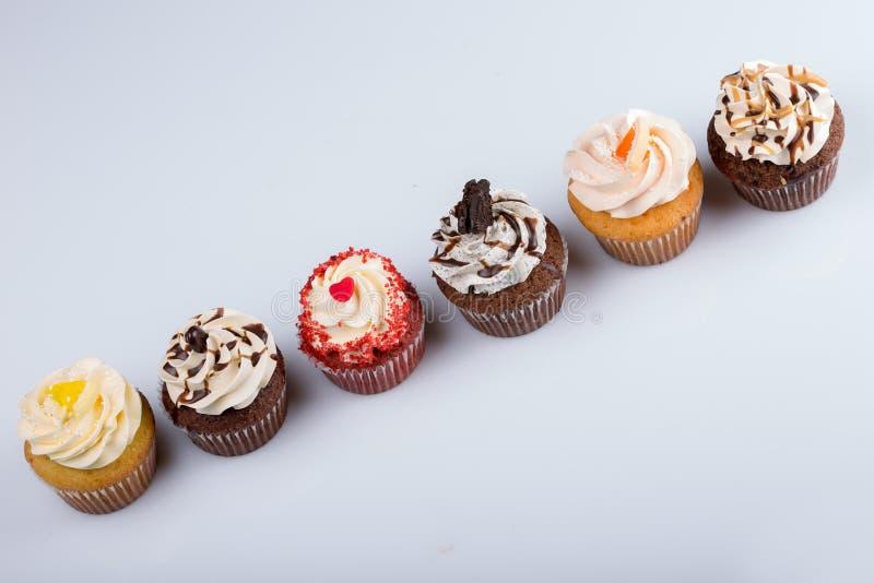 amerikanska muffiner arkivfoto