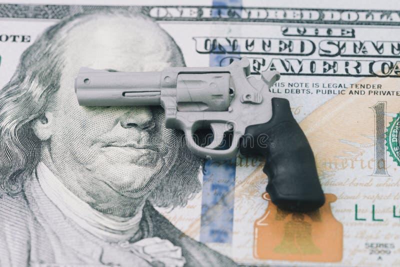 Amerikanska subkulturer som glorifierar vapen och värderar dem mer än royaltyfria bilder
