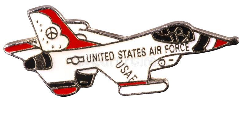 Amerikanskt flygvapenemblem arkivbild