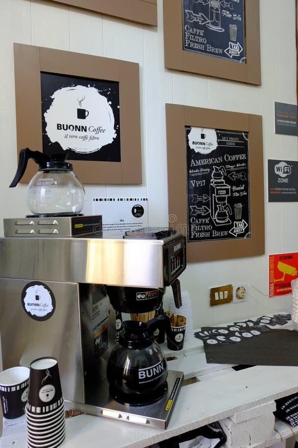 amerikanskt kaffe royaltyfria bilder