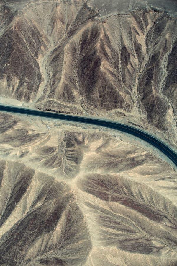 amerikanskt lopp för väg för panna för chile huvudvägliggande arkivbild