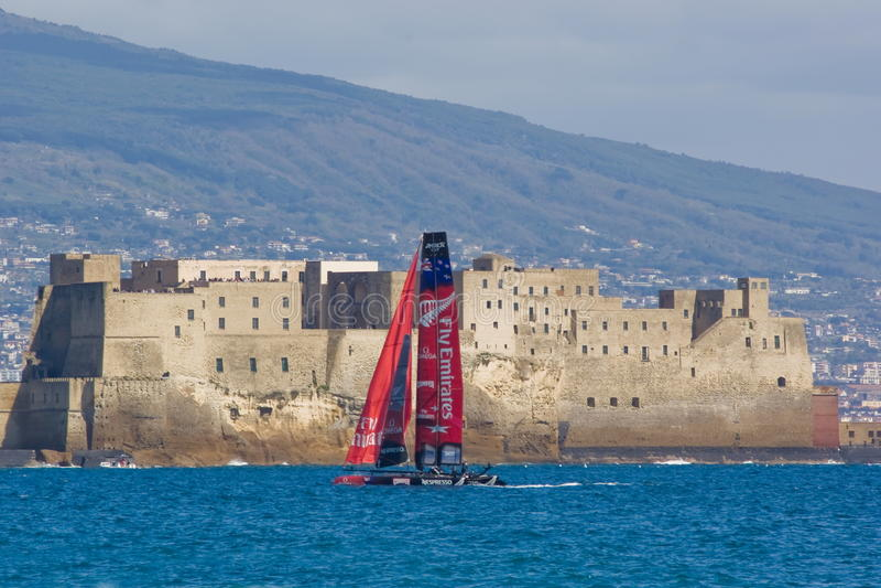 Amerikas Cup-Weltmeisterschaft 2012 in Neapel lizenzfreies stockfoto