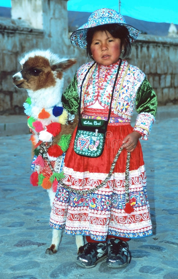 Free Amerindian Child Royalty Free Stock Image - 22025256