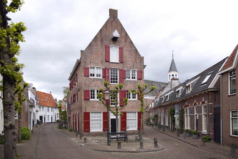 Amersfoort, beautiful old Hanseatic city in Netherlands stock image