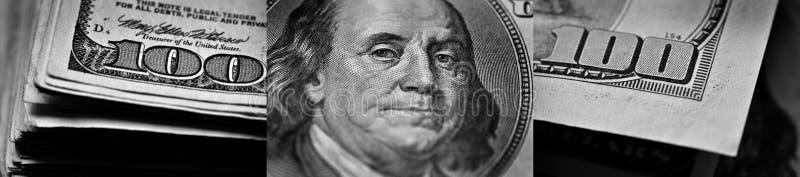 Amerykańscy dolary waluty Reprezentuje bogactwo i bogactwa obraz stock