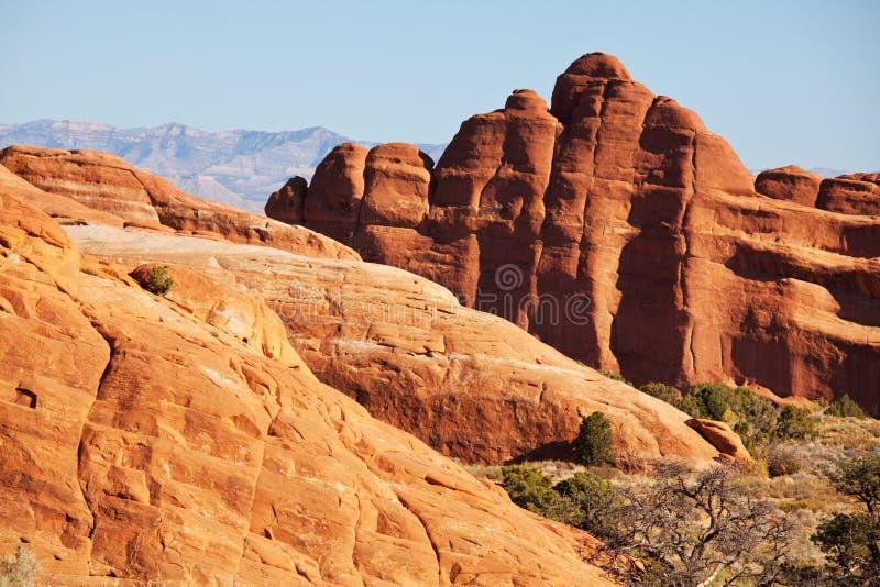 Amerykańscy krajobrazy zdjęcie stock