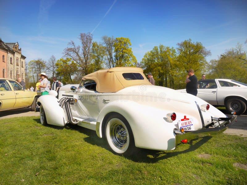 Amerykańscy Luksusowi Egzotyczni roczników samochody fotografia stock