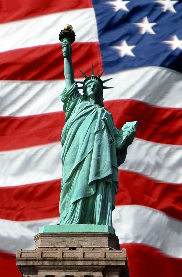 Download Amerykańscy Wolności Symboli Zdjęcie Stock - Obraz złożonej z sztandar, chwała: 36488