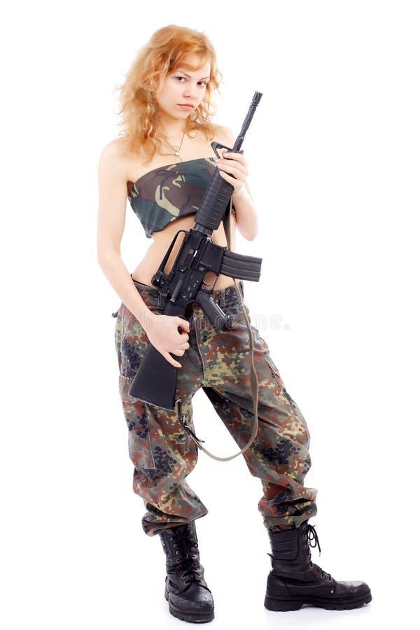 amerykańska dziewczyna zdjęcia stock