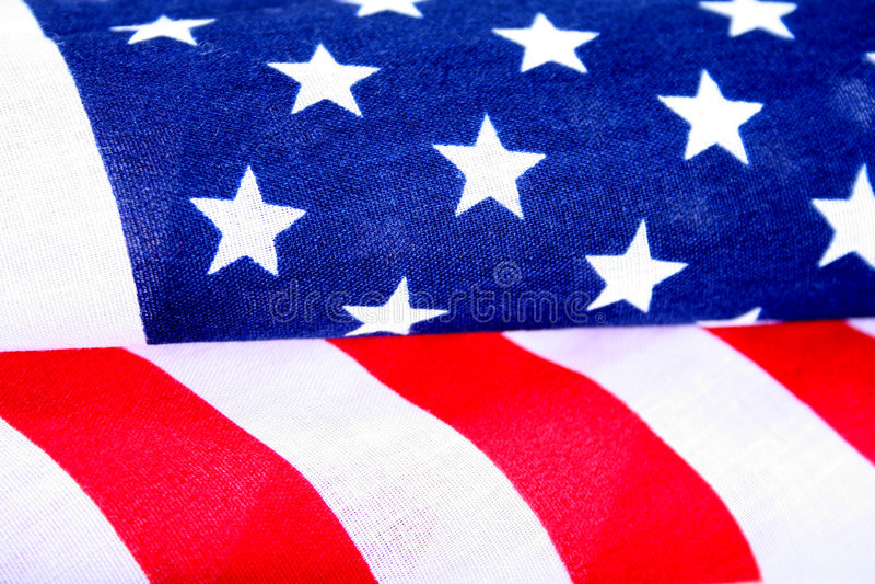 amerykańska flaga zdjęcie stock
