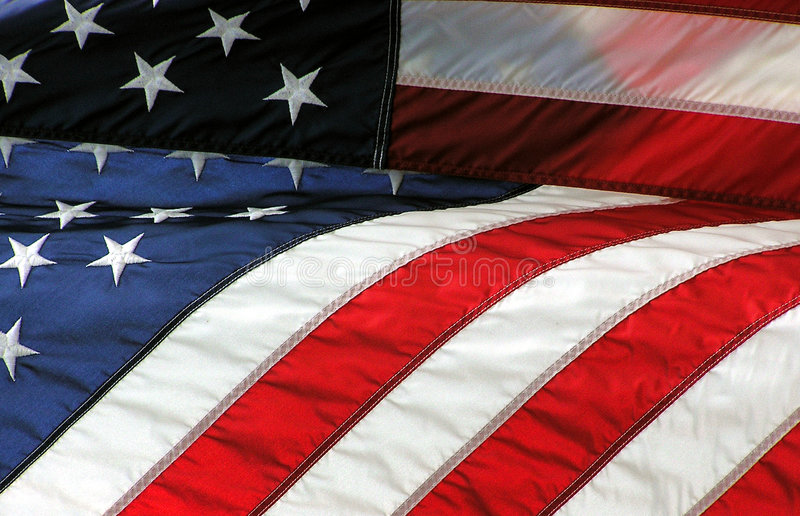 amerykańska flaga obrazy stock