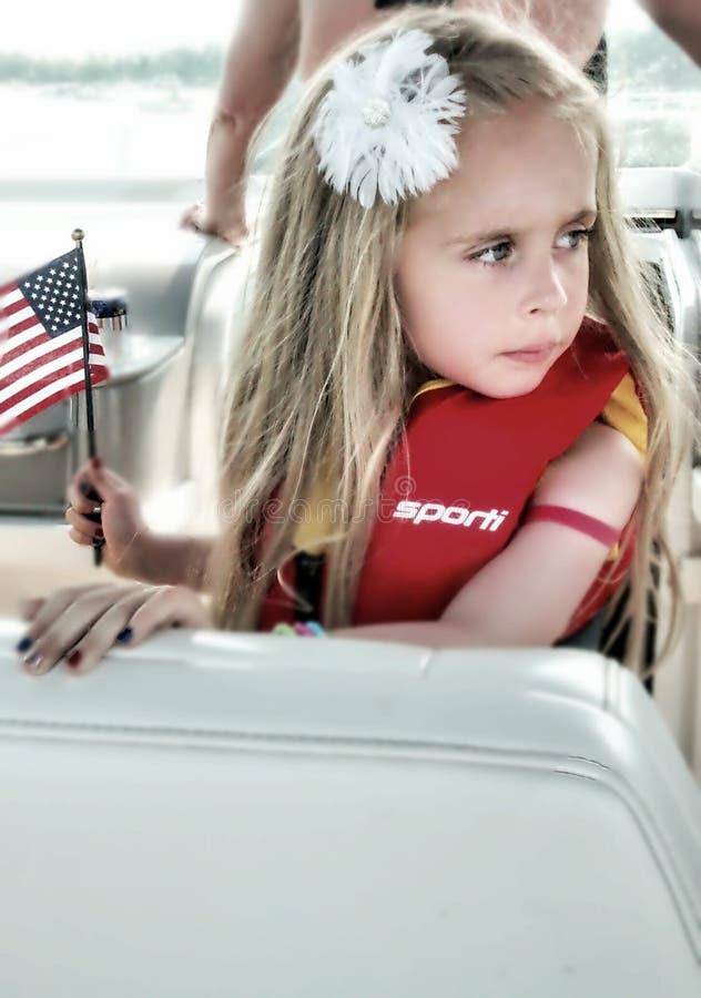 Amerykańska marzycielka fotografia stock