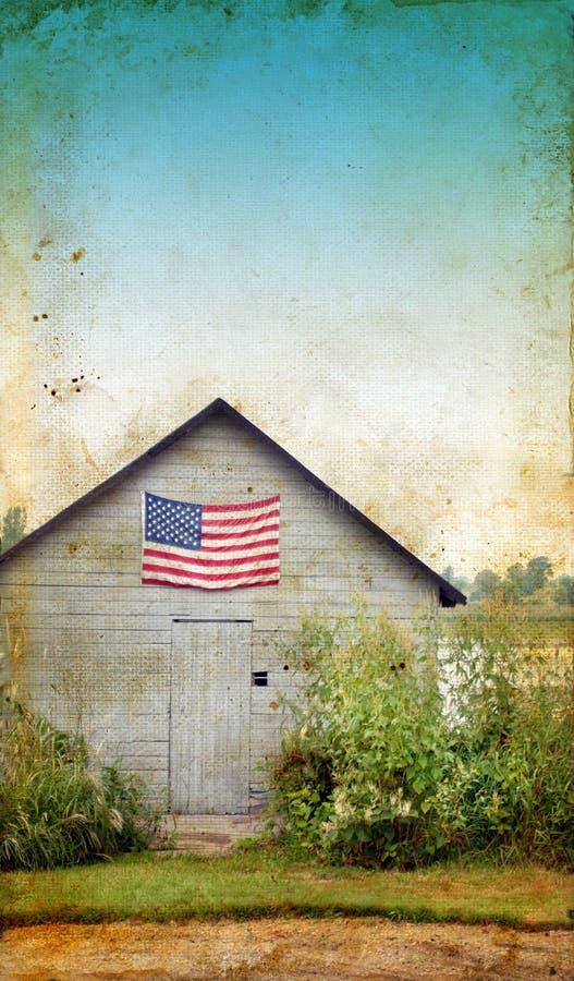 amerykańska tła flaga grunge jata obrazy stock