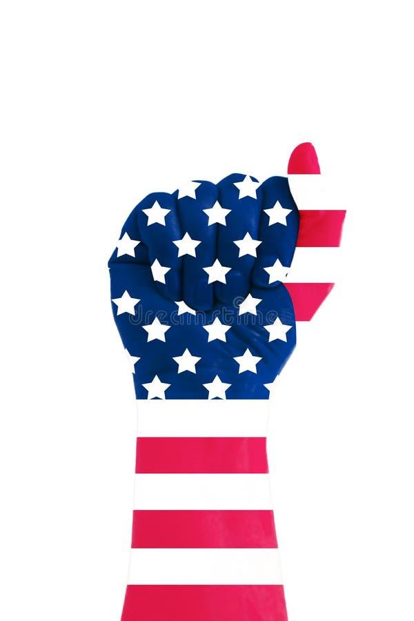 amerykańska władza obrazy royalty free