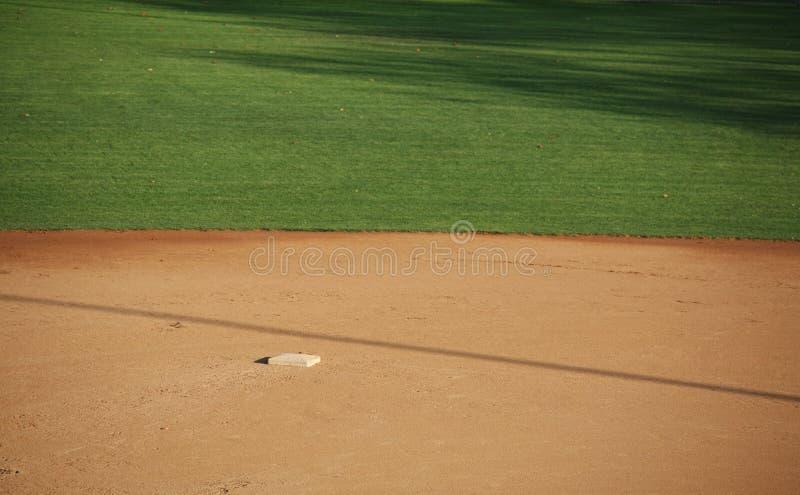 amerykański baseball pole obraz stock